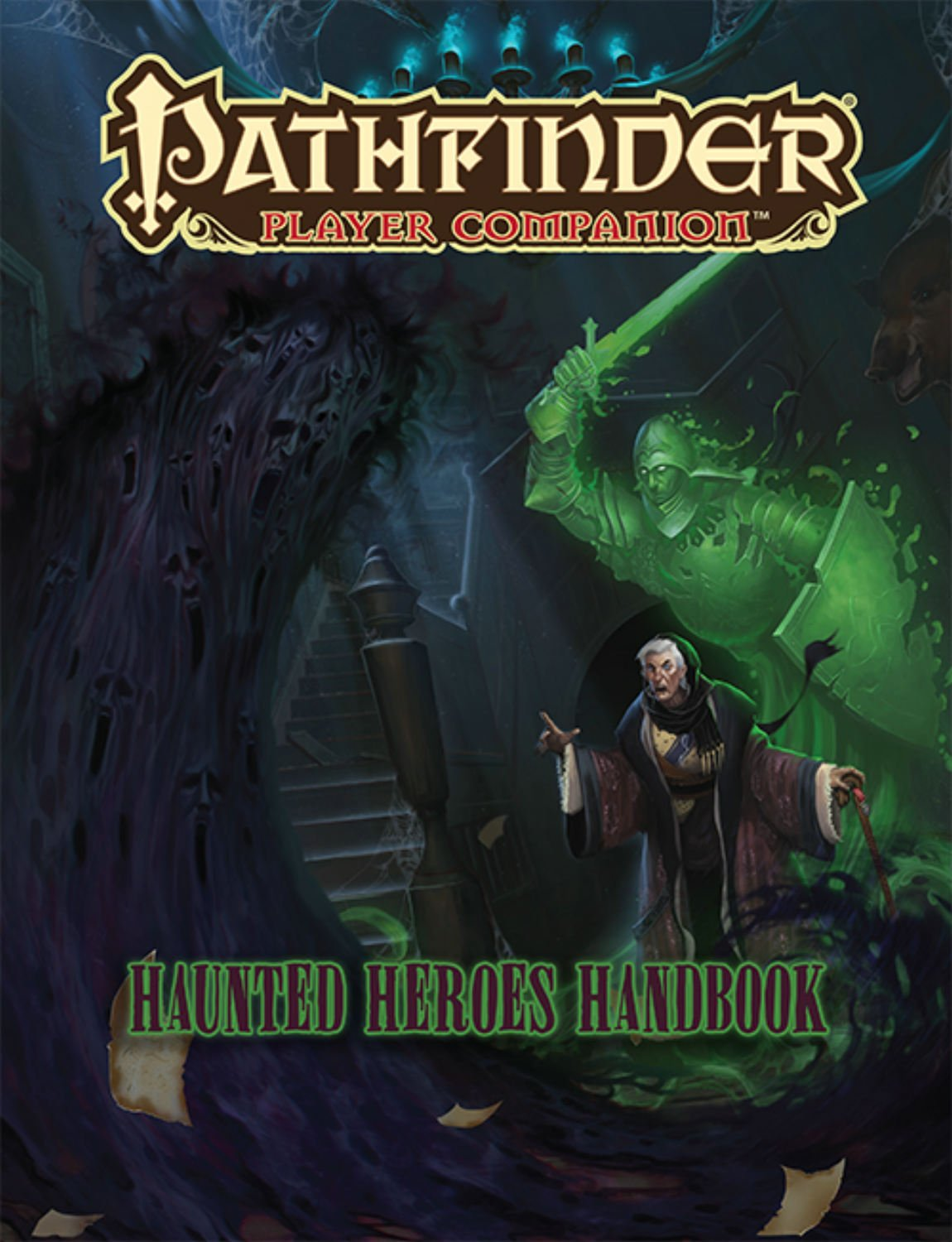 Pathfinder Player Companion: Haunted Heroes Handbook: Paizo Staff:  9781601258847: Amazon.com: Books