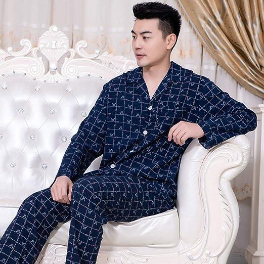 JFCDB Pijama,Pijamas de algodón para jóvenes Primavera y ...