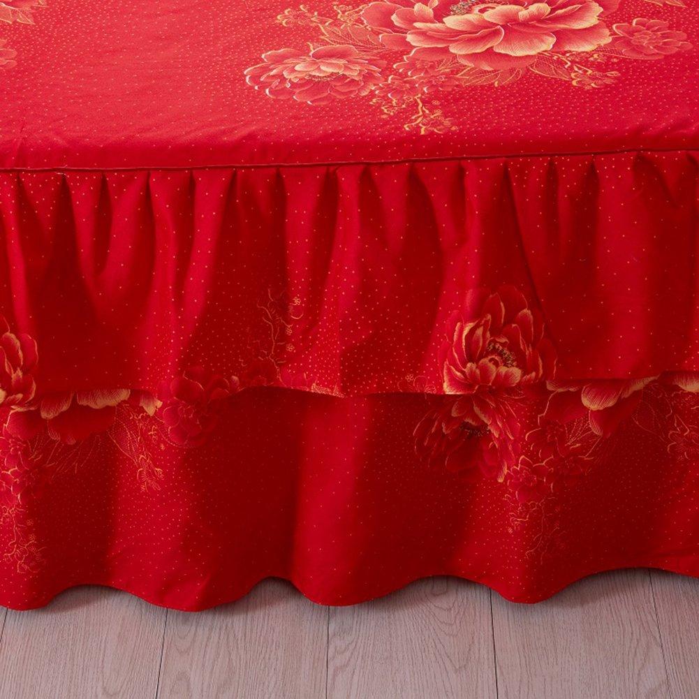ishine Bett Rock Tagesdecke Bett Abdeckung 150cmx200cm Steppdecke Bett/überwurf Kissenbezug-Rosa-A