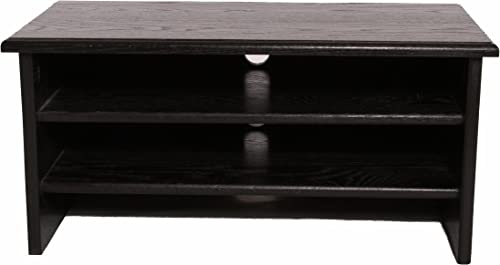 SYRACUSE 4-TIER BLACK TV RISER FOR THE ULTIMATE EXPERIENCE IN TV VIEWING