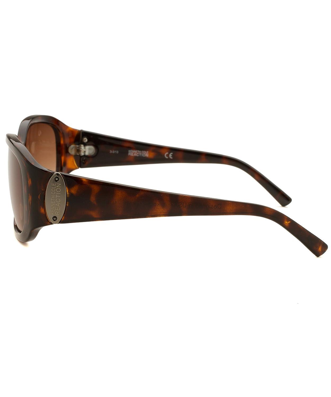 Amazon.com: De la Mujer rectángulo Havana – Gafas de sol ...