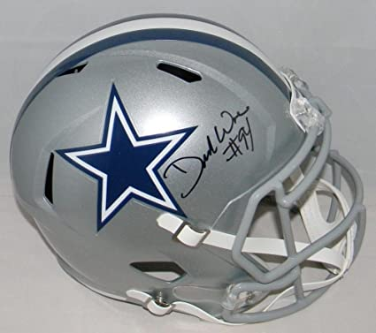 ce78eaf9a94 Demarcus Ware Signed Autographed Dallas Cowboys Full Size Speed Helmet JSA  Certified