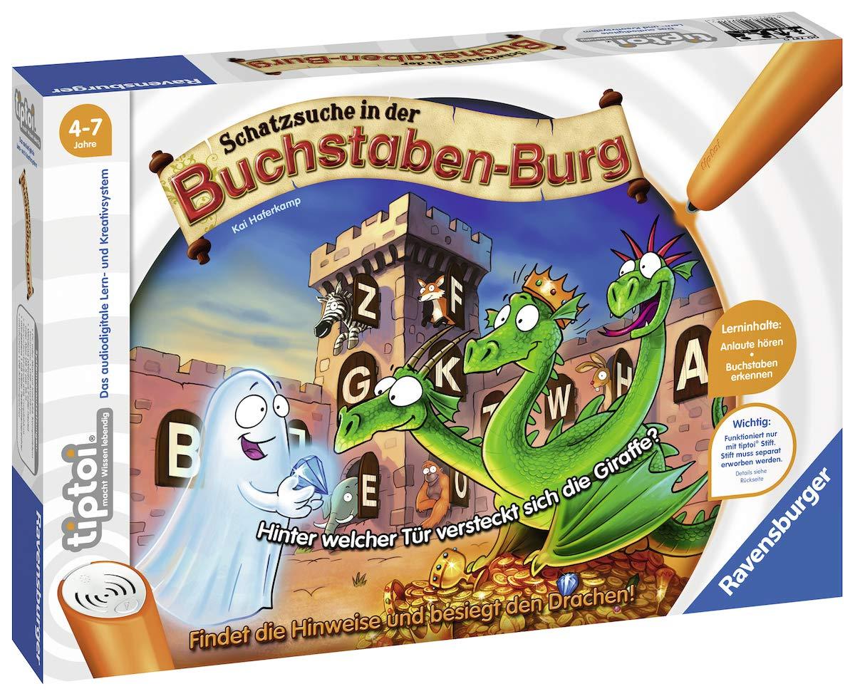 Ravensburger 00737 - Tiptoi Spiel Schatzsuche in der Buchstabenburg Ravensburger Spielverlag