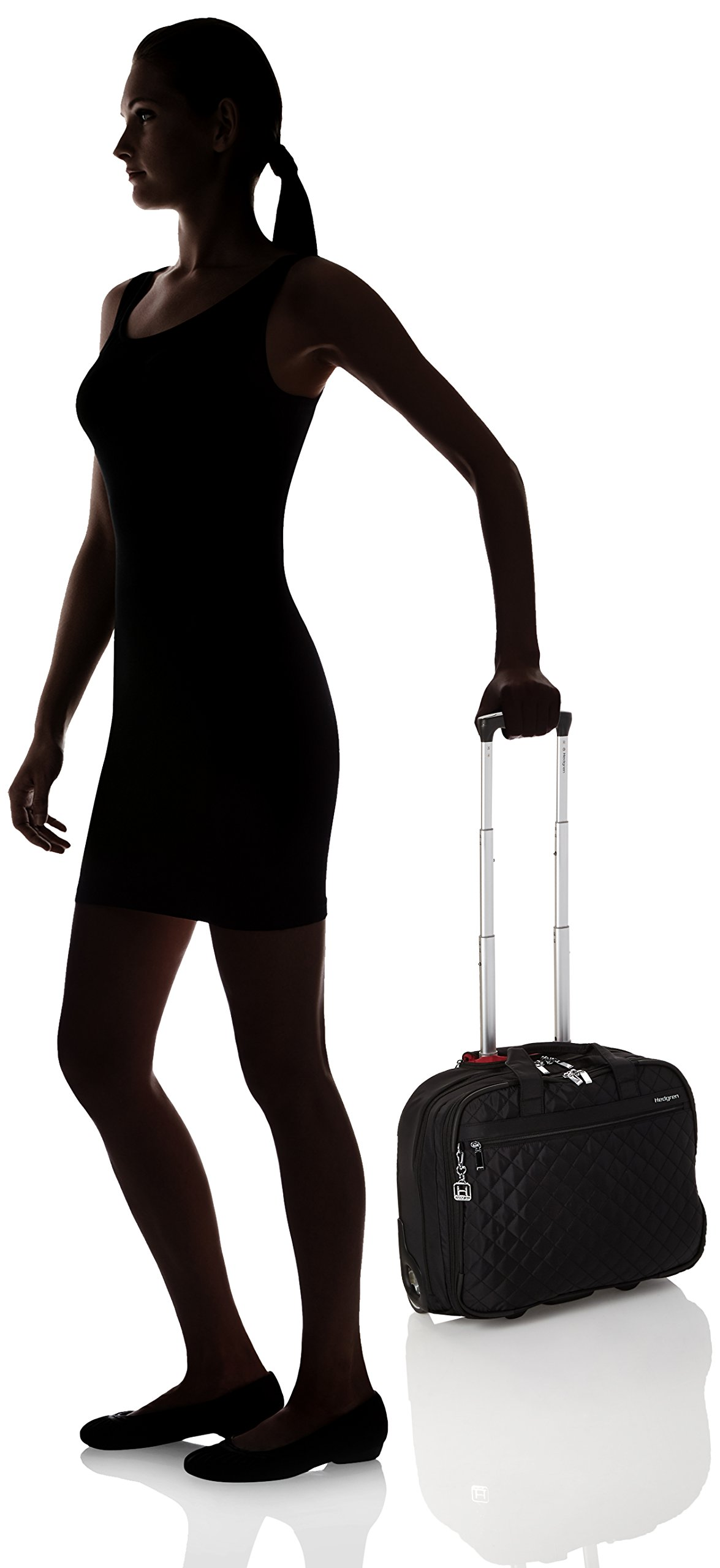 Hedgren Cindy Business Trolley 15.6 Briefcase, Black by Hedgren (Image #7)