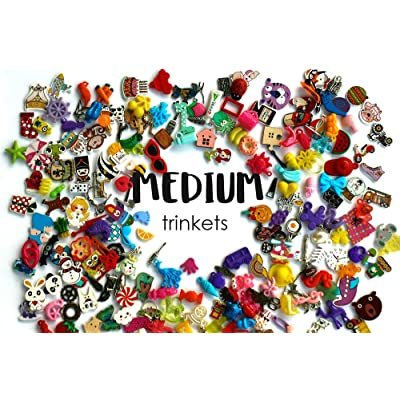 TomToy Medium Mixed I Spy trinkets for I spy Bag/ Bottle, Speech Therapy, Miniatures, 2-4cm, Set of 20/50/100/200 (20 trinkets): Toys & Games