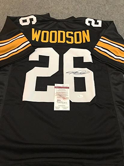 best loved 5b9d9 30bf7 Rod Woodson Autographed Signed Pittsburgh Steelers Jersey ...