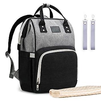 38c1b58d16 Upsimples Diaper Bag Maternity Nappy Bag Backpack Waterproof Diaper Backpack  Large Capacity Baby Bag for Mom Dad