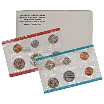 1969 US Mint Uncirculated Sets silver Kennedy