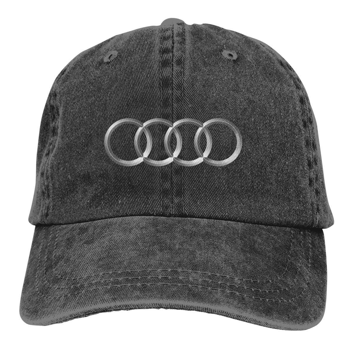 AASPOZ Unisex Vintage Adjustable Dad-Hat Audi Logo Sports Cap ...