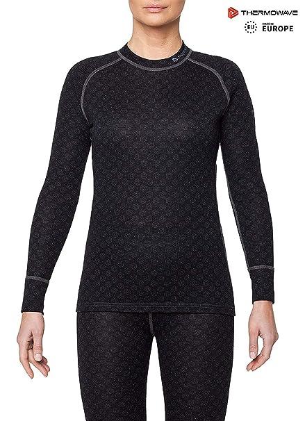 7ddeaa9561a870 Amazon.com: Thermowave - Merino Xtreme/Womens Merino Wool 200 GSM ...