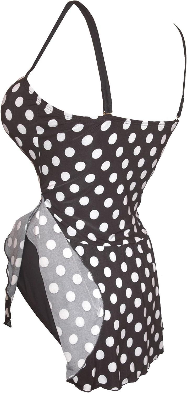 Funfash Plus Size Womens Swimsuit Bathing Suit Tankini Skirt Swimwear Swimdress