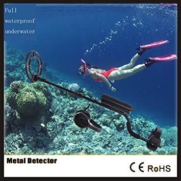 Generic Detector de metal completo impermeable metaldetector sensible playa detectores de metal oro TREASURE Hunter con