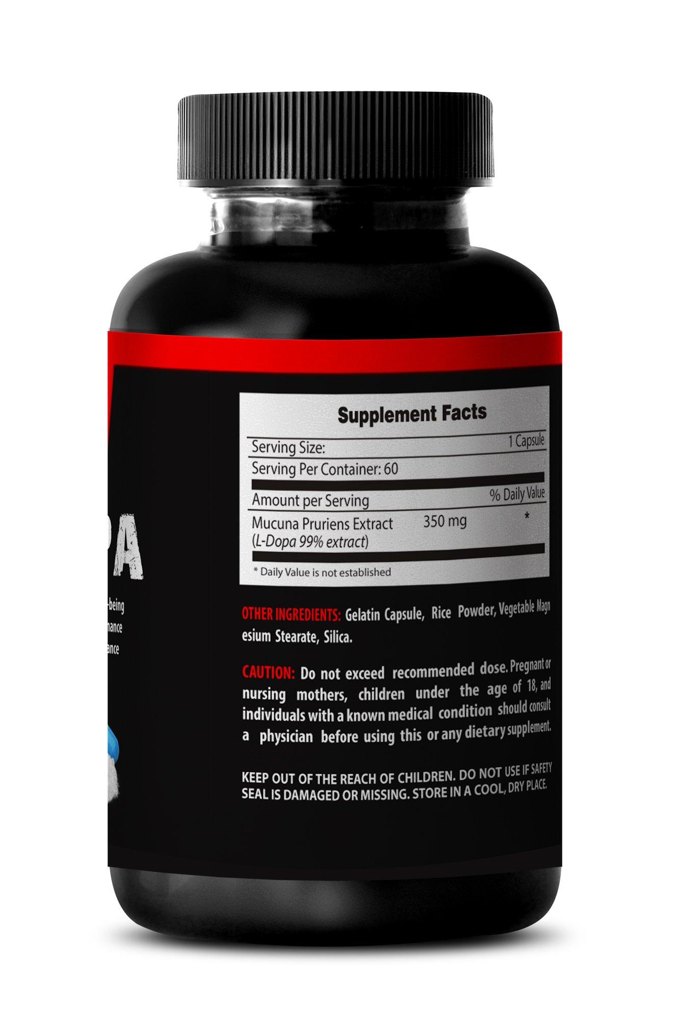 Macuna Pruriens L-Dopa Powder - Mucuna Pruriens Extract (6 bottles 360 capsules) by VIP VITAMINS (Image #4)