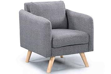 Amazon.de: Longdon Deko-Sessel, moderner Stoff, für Schlafzimmer ...