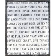 Sugarboo Designs Art Print AP136 Remember When, 24-Inch by 30-Inch by 2-Inch
