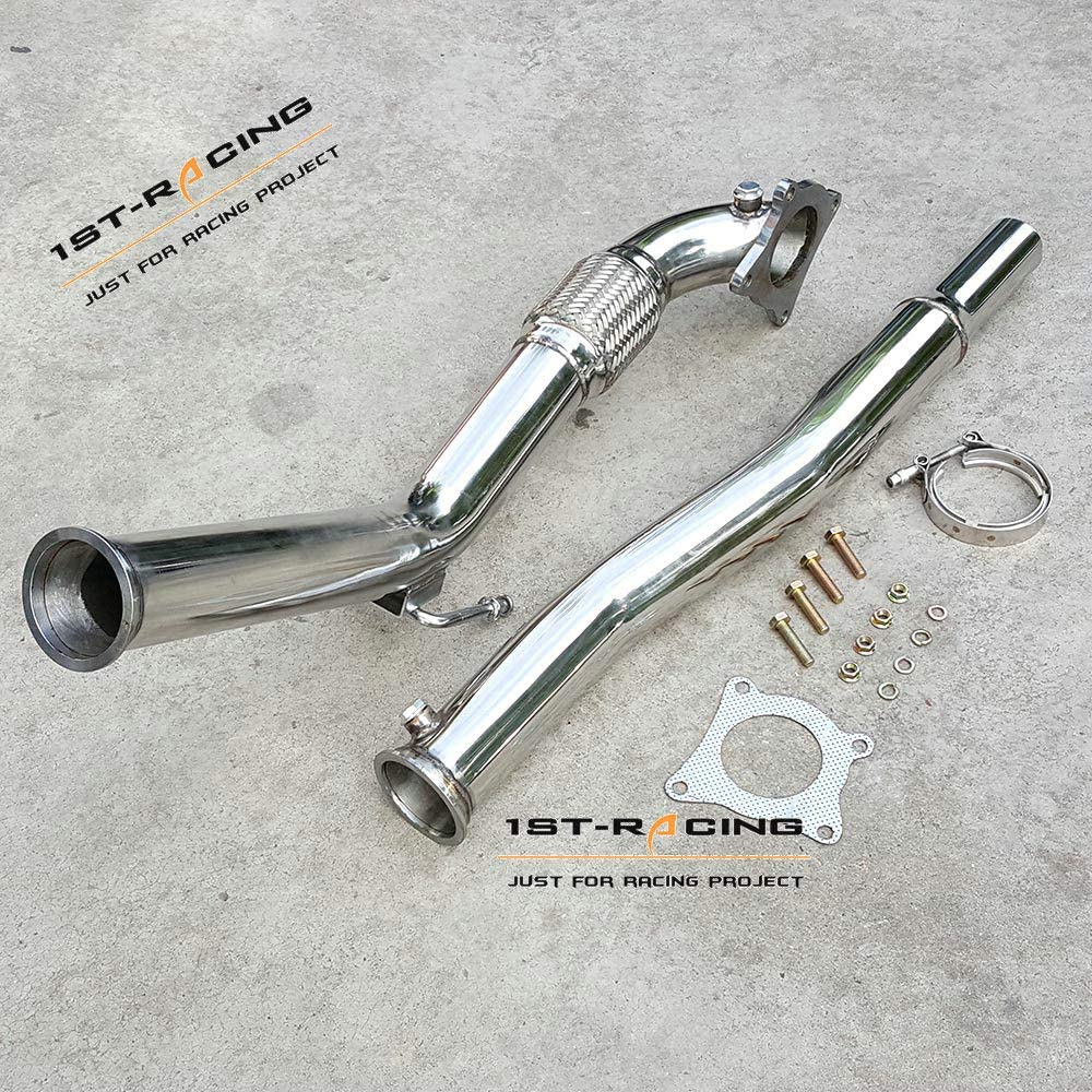 3.0 Turbo Exhaust Downpipe For VW Golf//GTi MK5/&MK6 Jetta//Audi A3 2.0T