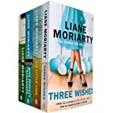 Liane Moriarty 4 Books Collection Set (Three Wishes, Big Little Lies, Nine Perfect Strangers, Truly Madly Guilty)