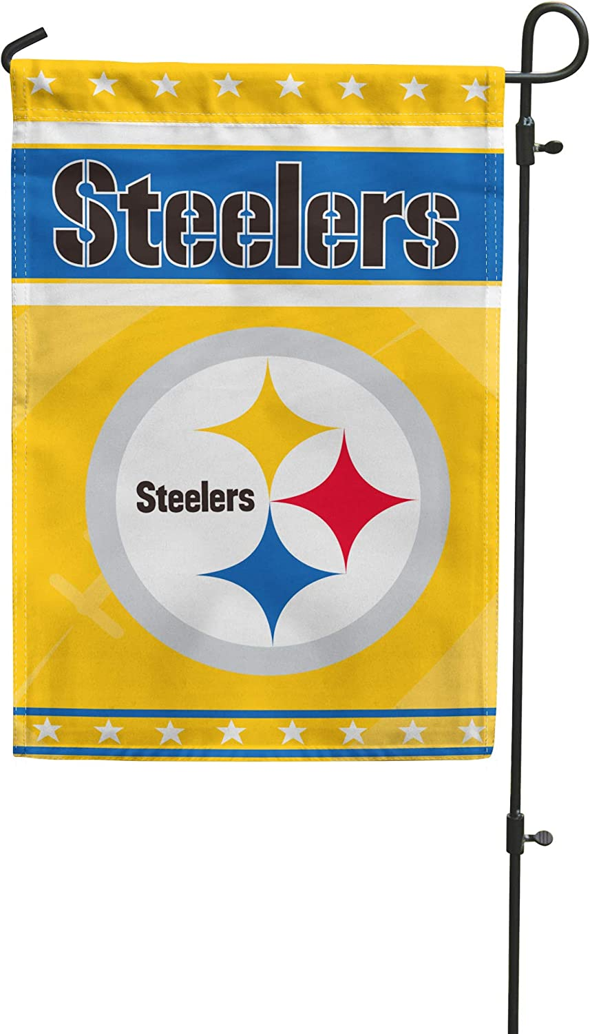 Weming Sports Fans Yard Flags Football Home Double Sided Garden Flag for Outdoor Garden Lawn 12''×18''