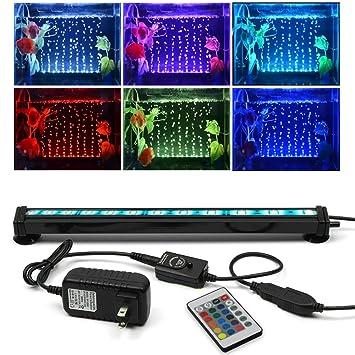 amazon com szminiled led aquarium bubble lights 11 8inch 30cm