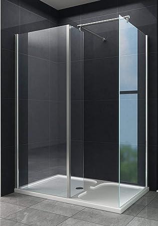 Caracol ducha Dublin 150 x 90 cm sin Taza/Ducha Mampara de ducha ...