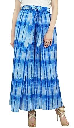 Phagun de las Mujeres de Las Mujeres Azules de algodón Yoga ...