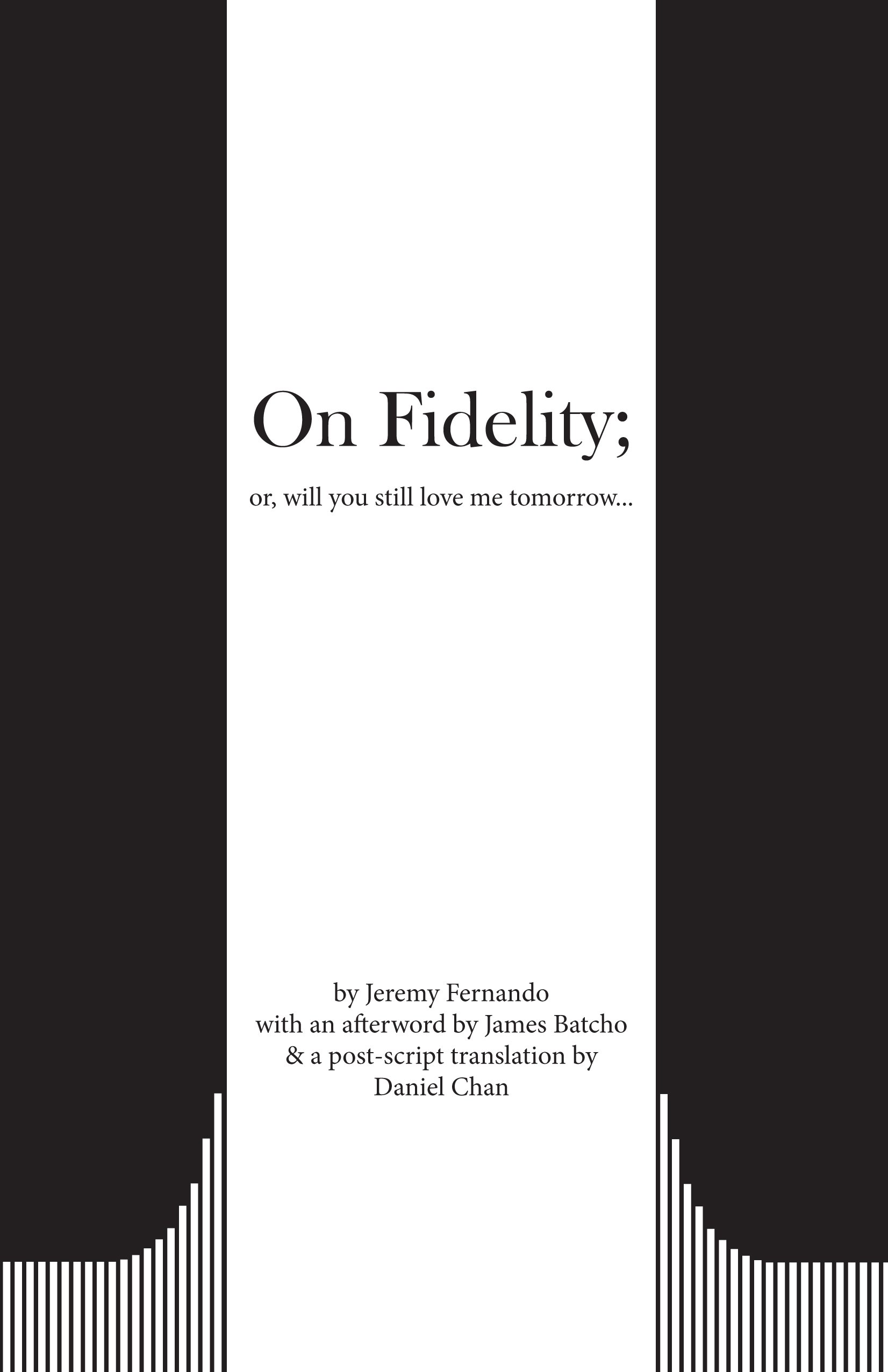Read Online On Fidelity; Or, Will You Still Love Me Tomorrow. pdf