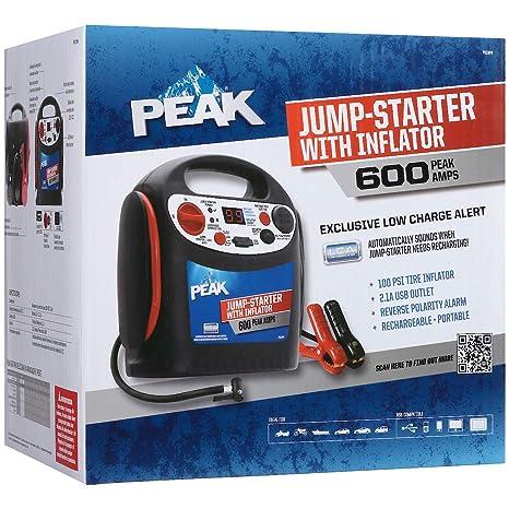 Amazon.com: Peak PKC0P6 600 Amp, arrancador de baterí ...