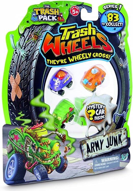 Trash Wheels (Giochi Preziosi 68140) - Blister de 4 vehículos (surtido: modelos aleatorios): Amazon.es: Juguetes y juegos