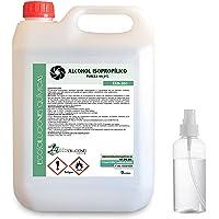 Ecosoluciones Químicas ECO-301 | 5 L | Alcohol Isopropílico 99,9% Puro | Limpieza componentes electrónicos, Objetivos…