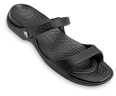 crocs Women's Cleo Fashion Sandals Fashion Slippers at amazon