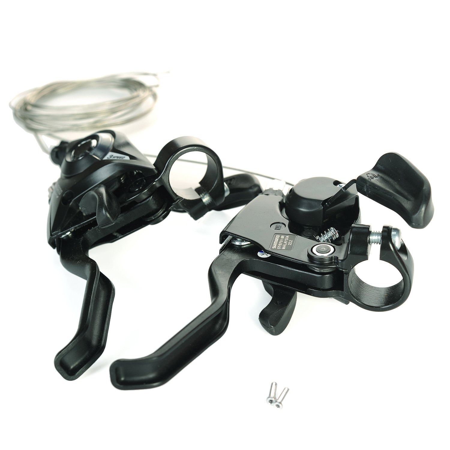 SHIMANO ST-EF51 Brake & Shifter Levers Combo Set 3x8 Pair With Shift Cable And End Caps by SHIMANO (Image #9)