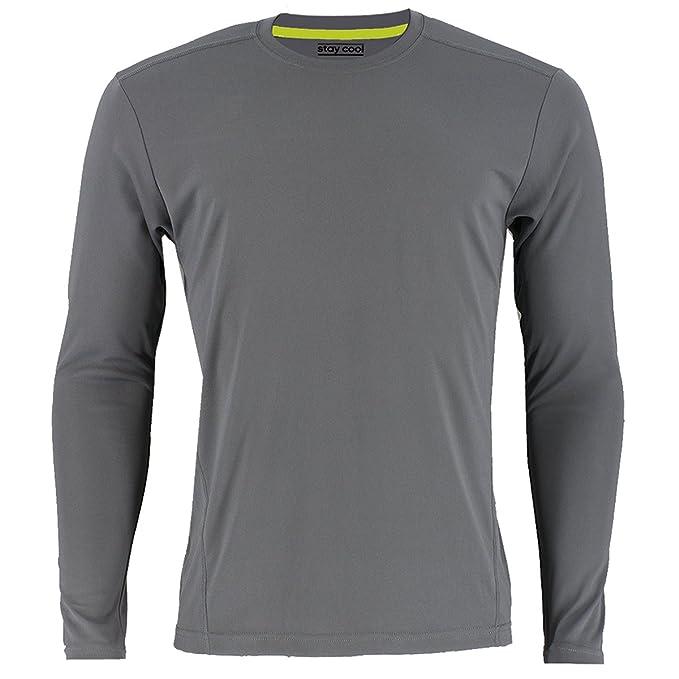 adidas Men's Baselayer Climalite UPF Long Sleeve Crew Top