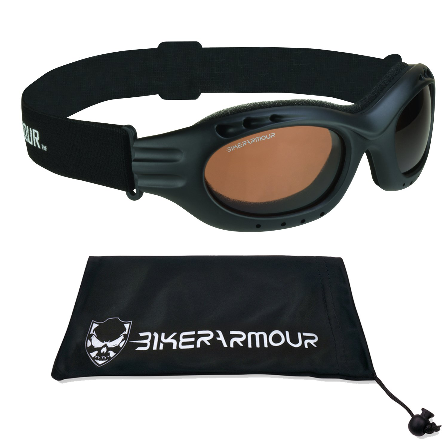 Motorcycle Polarized Goggles High Definition HD Lens for Men and Women.