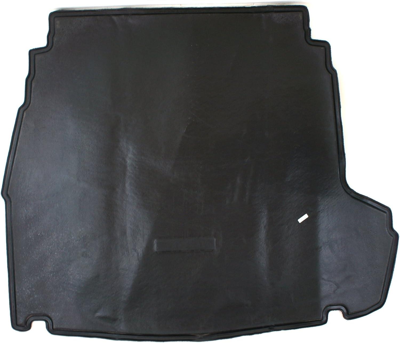 HYUNDAI Genuine Accessories 3Q012-ADU00 Black Premium Trunk Mat with Logo Sonata