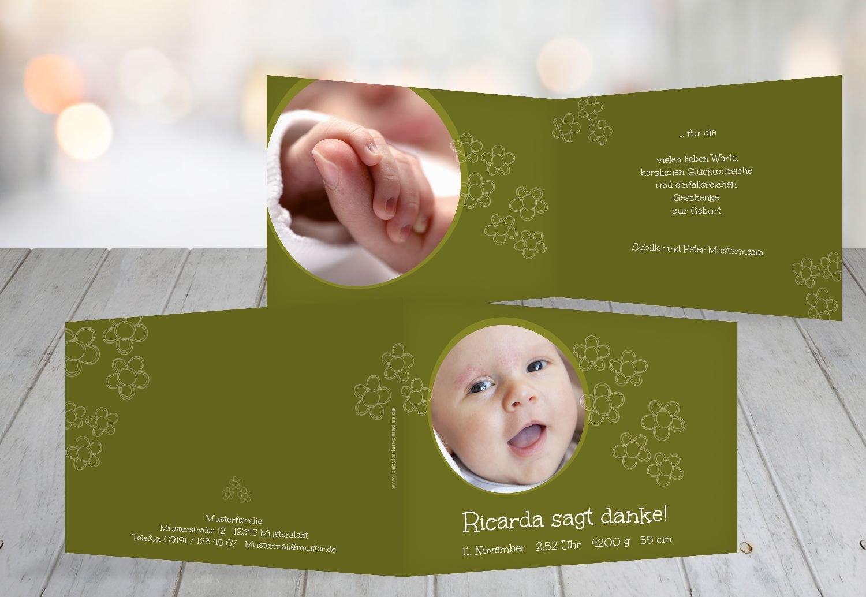 Kartenparadies Danksagung für Geburt Baby Dankeskarte Dankeskarte Dankeskarte Blüten, hochwertige Danksagungskarte Baby inklusive Umschläge   100 Karten - (Format  148x105 mm) Farbe  Hellbraun B01N9X9I3N | Queensland  | Ein Gleichgewicht zwischen Zähigkeit und Hä f25511