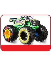 Mattel- Hot Wheels-Monster Truck Coches de Juguetes 1:64, Modelos Surtidos FYJ44