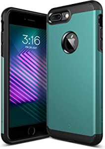 Caseology Legion for Apple iPhone 7 Plus Case (2016) - Dual-Layer Armor - Aqua Green