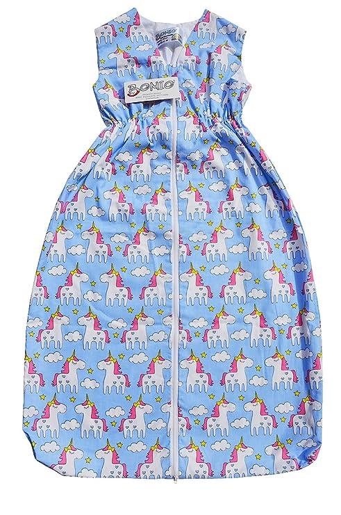 bomio Unicornio Unicorn Saco de dormir Baby Primavera y Verano, saco de dormir para bebés y ...