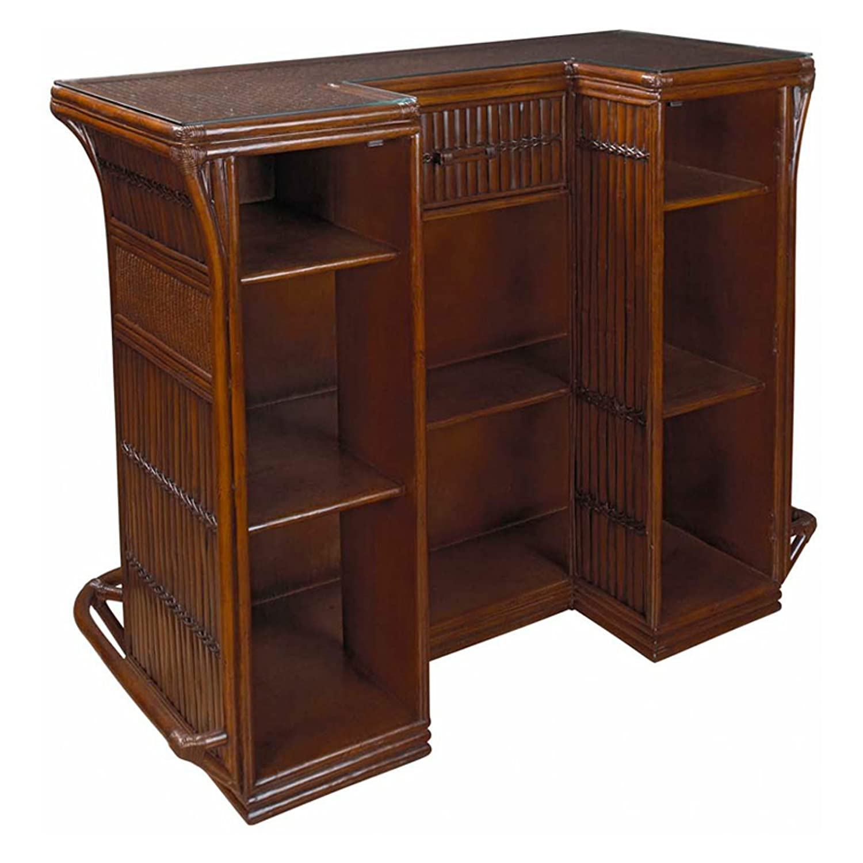 Amazon.com : Indoor Rattan U0026 Bamboo Bar : Outdoor And Patio Furniture :  Patio, Lawn U0026 Garden
