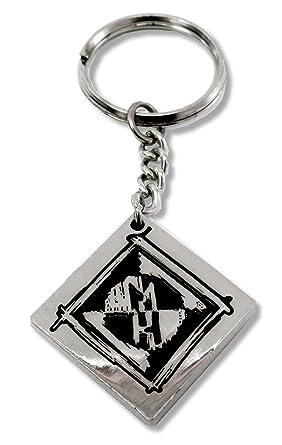 Amazon.com: Machine Head MH forma de diamante logo metal ...