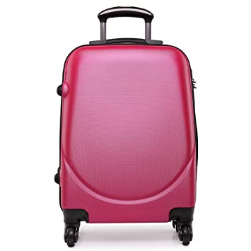 Maleta de viaje Kono Holiday de 61 cm, ABS, equipaje, negocios, viajes: Amazon.es: Equipaje