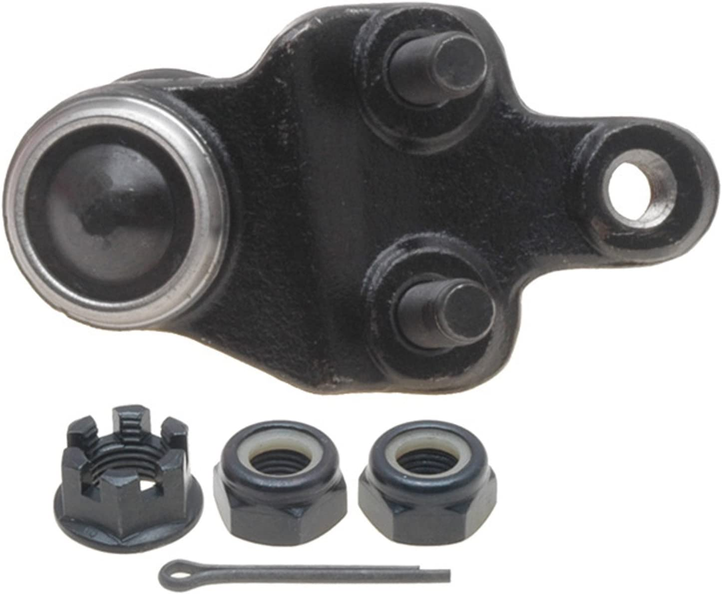 ACDelco 46D2302A Advantage Front Driver Side Lower Suspension Ball Joint Assembly