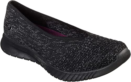 Antorchas de primera categoría Café  Skechers womens MICROBURST ONE-UP Microburst One Up Black Size: 3 UK:  Amazon.co.uk: Shoes & Bags
