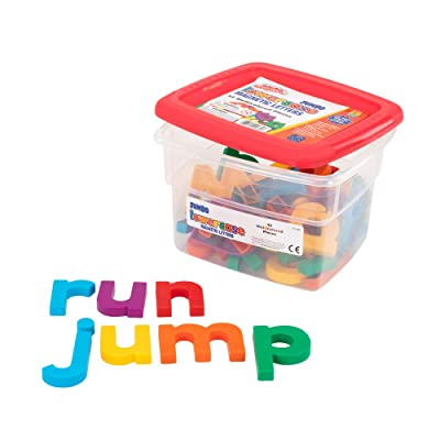 Educational Insights Jumbo AlphaMagnets- Multicolored Lowercase, Ages 4 and up, (42 Pieces): Toys & Games