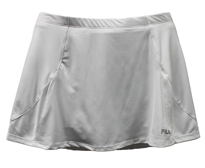 e387a95ace64 Amazon.com: Fila Womens Tennis Skort (LG x 4, White): Clothing