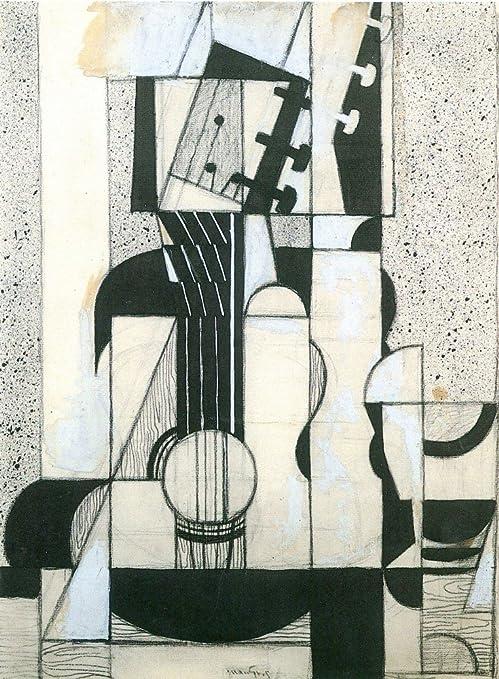 El Museo de salida – Bodegón con guitarra por Juan Gris – Póster ...
