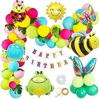 MMTX Cumpleaños Jardín Fiesta Decoración Vistoso Globos