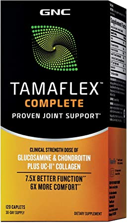 GNC Tamaflex Complete, 120 Caplets, Joint Support