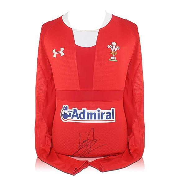 Leigh Halfpenny Firmado maillot Wales Rugby: Amazon.es: Deportes y aire libre