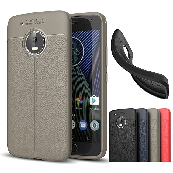 buy online 57fd9 a635b Amazon.com: Motorola Moto G5 Plus Case, Best Share Slim Fit Litchi ...